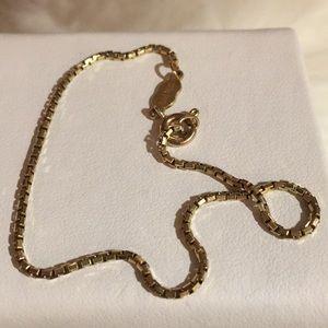 14 k Italian Gold Bracelet